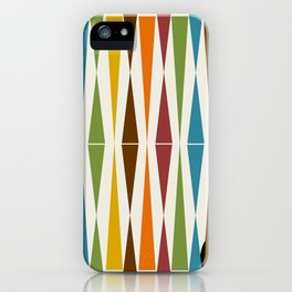 Mid-Century Modern Art 1.4 iPhone Case