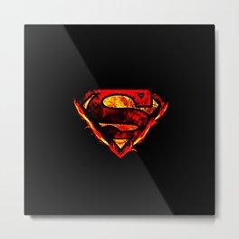 super logo Metal Print