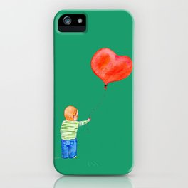 With All my Heart iPhone Case