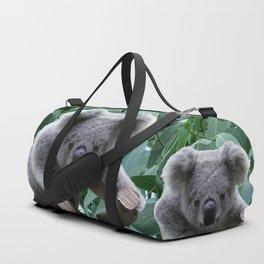 Koala and Eucalyptus Duffle Bag