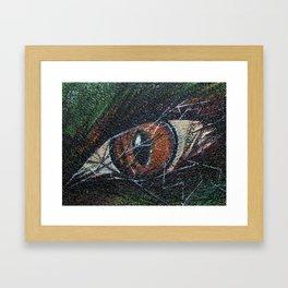 Animal Eye Framed Art Print