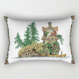 MY ISLAND RETREAT Rectangular Pillow