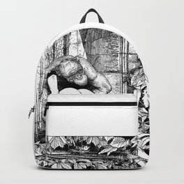 asc 363 - Le gardien des ruines (The guardian of the ruins) Backpack