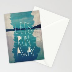 Let's Run Away: Manuel Antonio, Costa Rica Stationery Cards