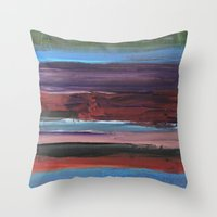 chic Throw Pillows featuring chic by Angela Marie