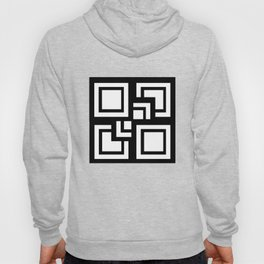 Square Pattern Hoody