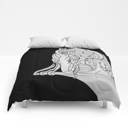 Ivory Tower (v3) Comforters