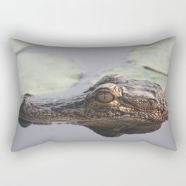 American Alligator Rectangular Pillow