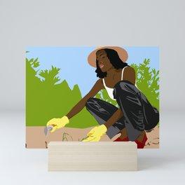 Greener Grass Mini Art Print