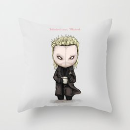 Initiation's over, Michael... Throw Pillow