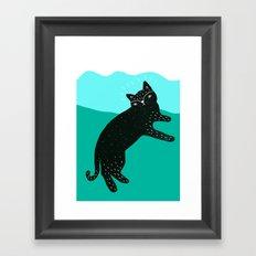 Cat Life 4 Framed Art Print