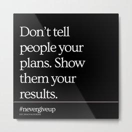 6    Simple Short Quotes   200818   Short Inspiring Motivational Inspirational Quotes Metal Print