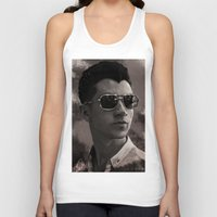 alex turner Tank Tops featuring Alex Turner by Tune In Apparel