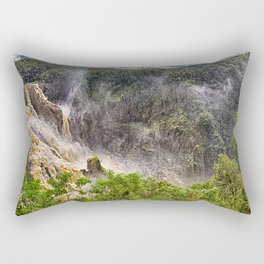Roaring water at Barron Falls Rectangular Pillow