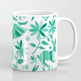 Mexican Otomí Design in Turquoise Coffee Mug