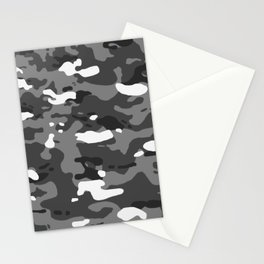 Military Camouflage: Urban II Stationery Cards