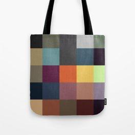 Pixel Patchwork Kappa Tote Bag