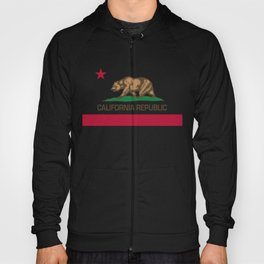 California flag Hoody