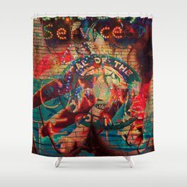 CRISIS #3 Shower Curtain