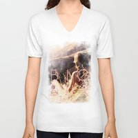 big sur V-neck T-shirts featuring BIG SUR by TOO MANY GRAPHIX