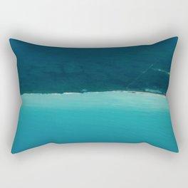 Liquid Planet Bay Shore Rectangular Pillow