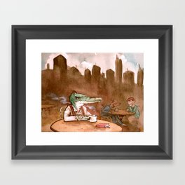 The Heirs to the Glimmering World Framed Art Print