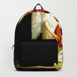 Carl Heinrich Bloch Angel With Jesus Christ Before Arrest in the Garden of Gethsemane Backpack