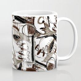 Silver Look Coffee Mug