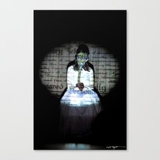 I let my brother go to the devil in his own way Canvas Print