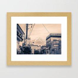 Funatsu Fujikawaguchiko Framed Art Print