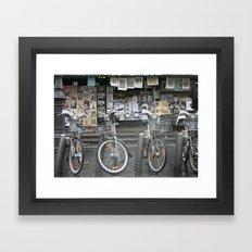 Vélo Paris Framed Art Print
