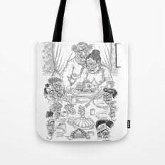 The Defamation of Normal Rockwell III (NSFW) Tote Bag