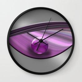Lilac Ball  Wall Clock