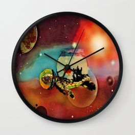 SPACE TURTLE VII - 202 Wall Clock