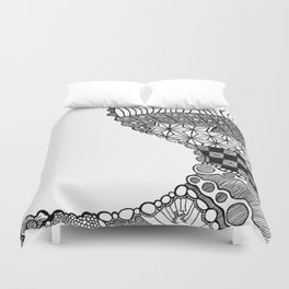 Curve (abstract) Duvet Cover