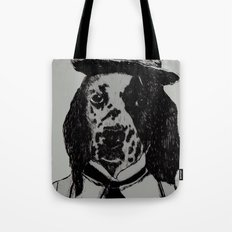 Dog Chaplin Tote Bag