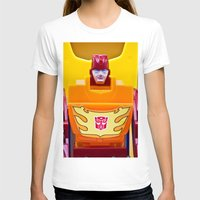 transformer T-shirts featuring G1 Transformers Autobot Rodimus Prime by TJAguilar Photos