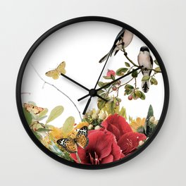 FLOURISHING Wall Clock