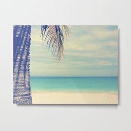 Aruba Beach Vacation Blue Ocean Photograph Metal Print