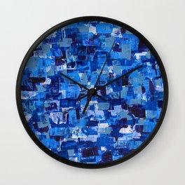 Sapphire Skin Wall Clock