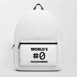 World's #0 programmer Backpack