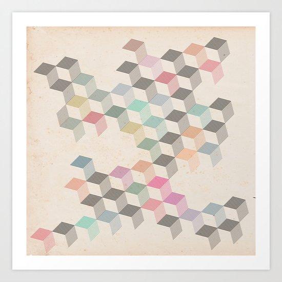 PatternPlay Series - v27 (float) Art Print