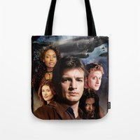 firefly Tote Bags featuring Firefly by SB Art Productions