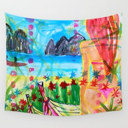 Koh pipi island in Thailand Wall Tapestry