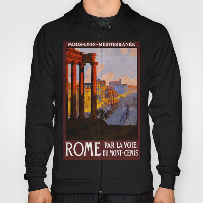Vintage Rome Italy Travel Hoody