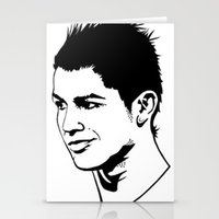 ronaldo Stationery Cards featuring ronaldo by b & c
