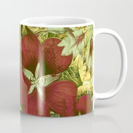 nasturtium with golden leaves Coffee Mug