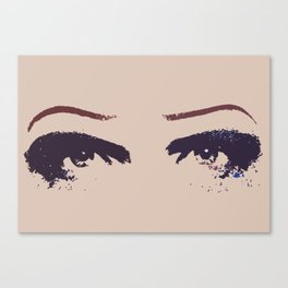 Hedwig's Eyes (with JCM) Canvas Print