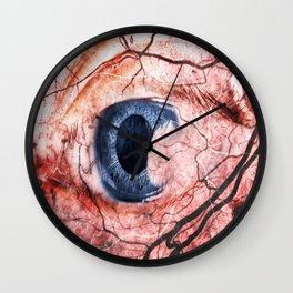 Got red eyes? Wall Clock