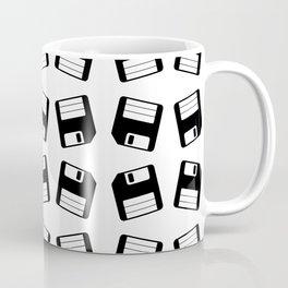 Diskette Retro Pattern Coffee Mug